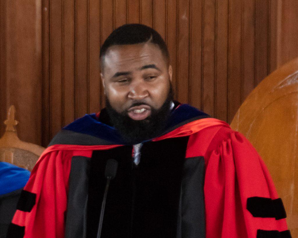 Baccalaureate Speaker Reverend Dr. Jamall Calloway
