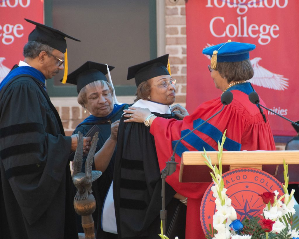 Flonzie Brown Goodloe Wright, Doctor of Humane Letters