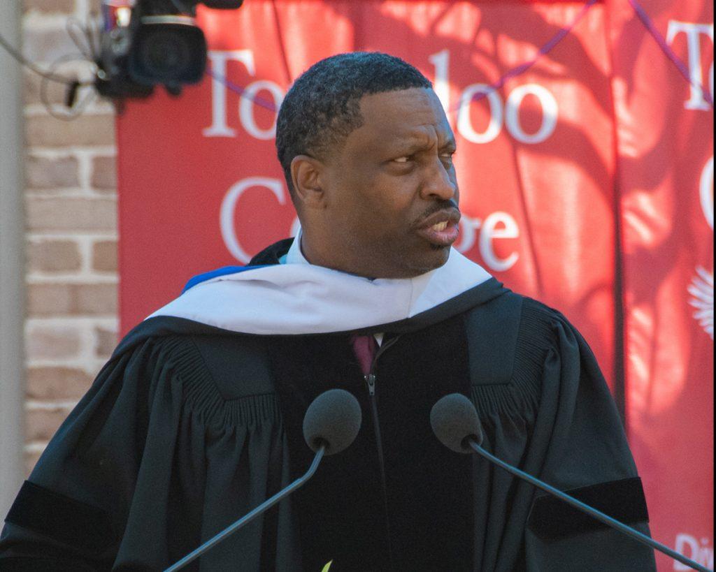 Derrick Johnson, Commencement Address